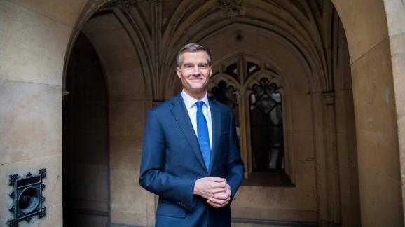 Mark Harper, membre du Parti conservateur anglais et député, le 8 octobre 2018 à Londres.