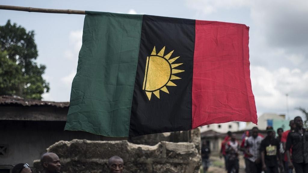 Le drapeau de la république du Biafra reste le symbole de l\'indépendance du peuple Igbo, cinquante ans après la guerre civile.